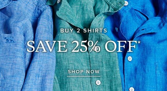 Bargain - 25% Off - 2 Shirts @ Rodd & Gunn