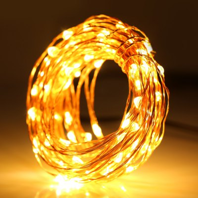 Bargain - $10.99 - 100-LED 10M Christmas LED String Light-12.16 Online Shopping| GearBest.com