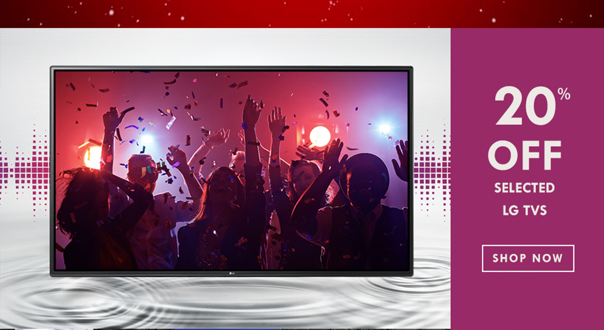 Bargain - 20% OFF - Selected LG TVs @ Homie
