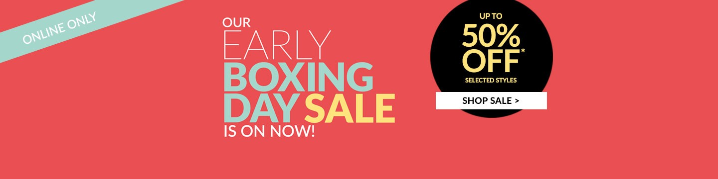 Bargain - Up to 50% OFF - Early Boxing Day Sale @ Ezibuy