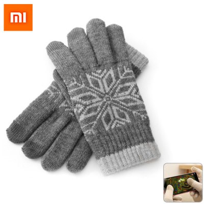 Bargain - $9.99/NZ$14.08 - Original Xiaomi Wool Touch Gloves-12.39 Online Shopping| GearBest.com