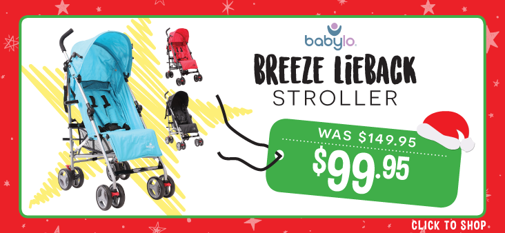 Bargain - $99.95 (was $149.95) - Babylo Breeze Lieback Stroller @ The Baby Factory