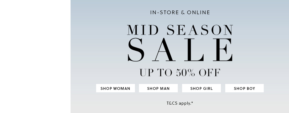Bargain - Up to 50% Off - Mid Season Sale @ Witchery