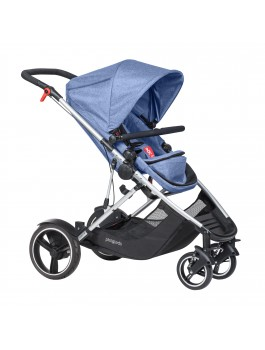 Bargain - $949 (was  $1,099) - phil&teds Voyager 2015 Blue Marl @ Babycity