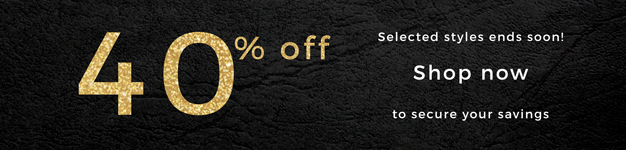 Bargain - 40% OFF - Selected Styles @ Red Rat