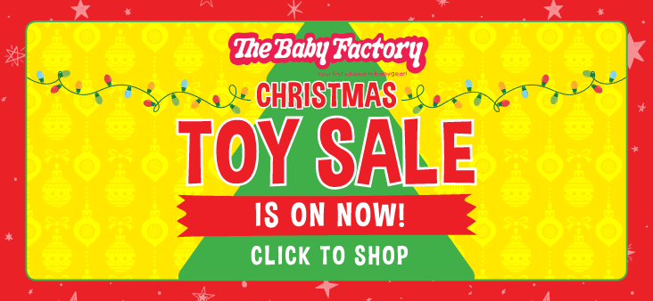 Bargain - Up to 50% Off - Christmas Toy Sale @ The Baby Factory