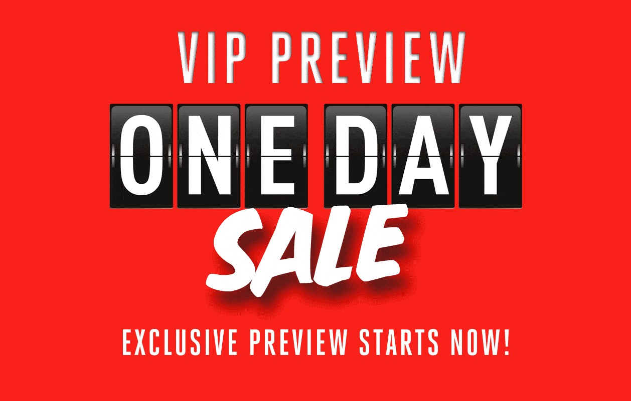 Bargain - One Day Sale - VIP Preview @ Hallenstein Brothers