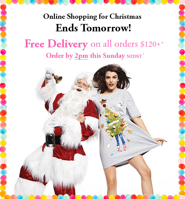 Bargain - Free Delivery  - On All Orders Over $120 @ Peter Alexander