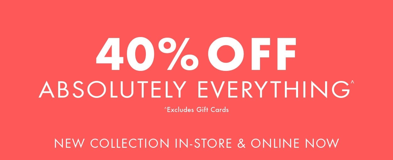 Bargain - 40% OFF - Absolutely Everything @ Jeans West