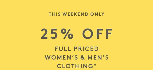 Bargain - 25% OFF - Full Priced Womens & Mens Clothing @ Country Road