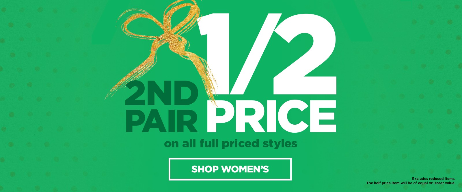 Bargain - 2nd Pair Half Price - Full Priced Styles @ Number One Shoes