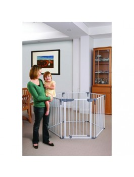 Bargain - $159 (was $199) - Dreambaby Royal Convert 3 in1 PlayPen Gate @ Babycity