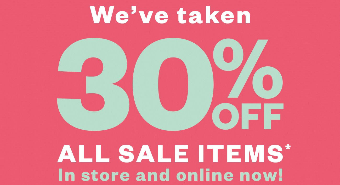 Bargain - 30% OFF - All Sale Items @ Merchant 1948