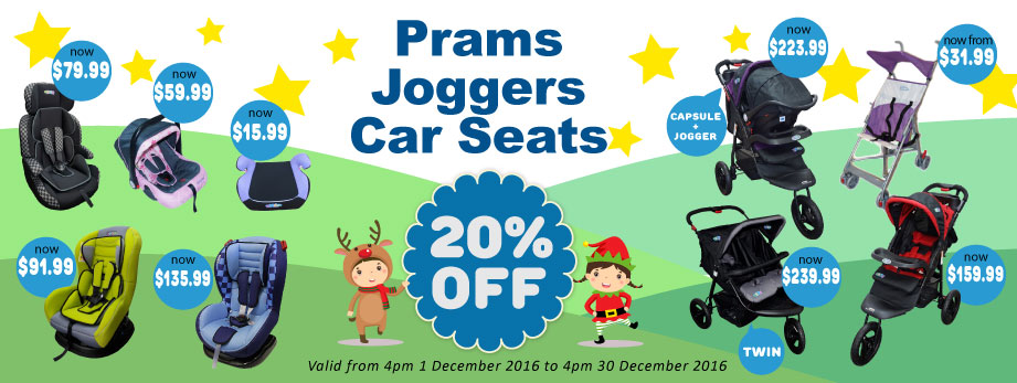 Bargain - 20% Off - Prams, Joggers, Car Seats @ Baby Online
