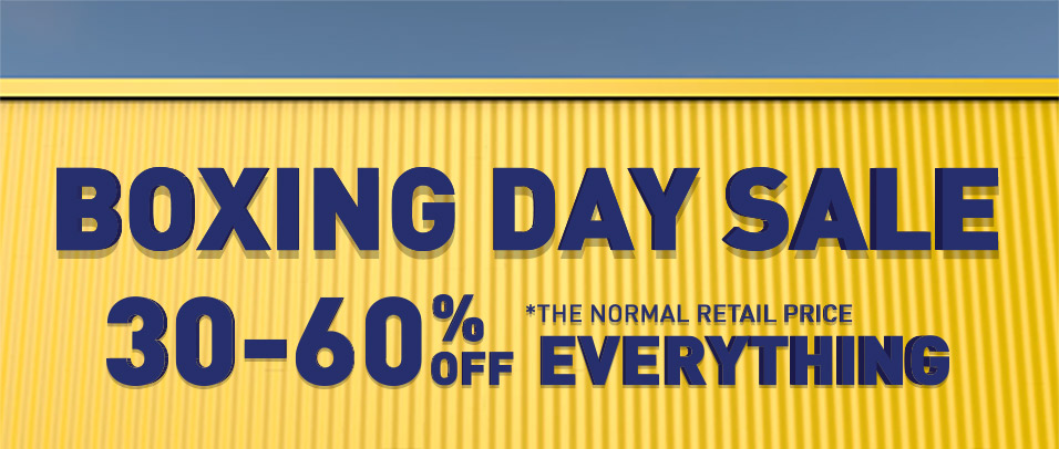 Bargain - 30-60% OFF - Boxing Day Sale @ Briscoes