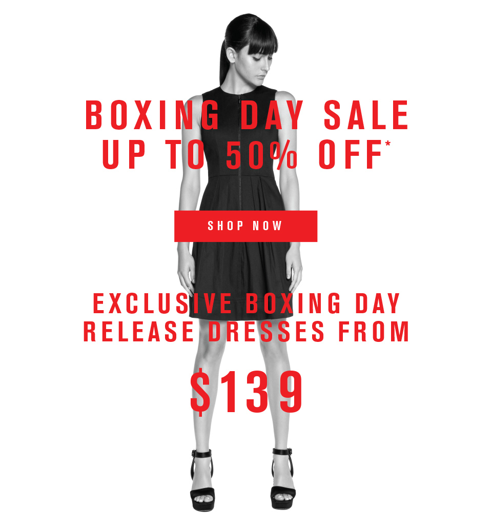 Bargain - Up to 50% Off - Boxing Day Sale @ Cue