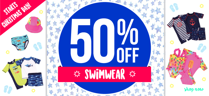Bargain - 50% Off - Swimwear @ The Baby Factory