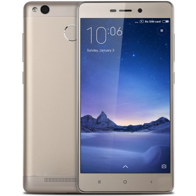 Bargain - $142.99 /NZ$201.50 and free shipping  - XiaoMi Redmi 3 Pro 32GB ROM 4G Smartphone-186.23 Online Shopping| GearBest.com