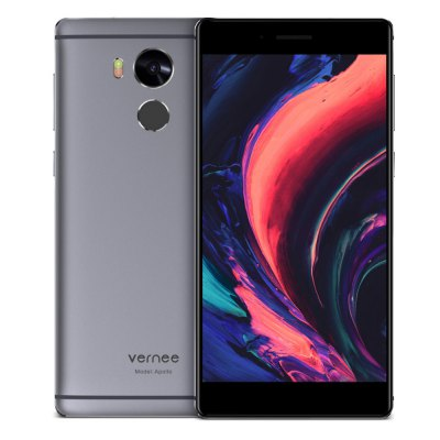 Bargain -  $252.99/NZ$356.51 and free shipping  - Vernee Apollo 4G Phablet-299.99 Online Shopping| GearBest.com
