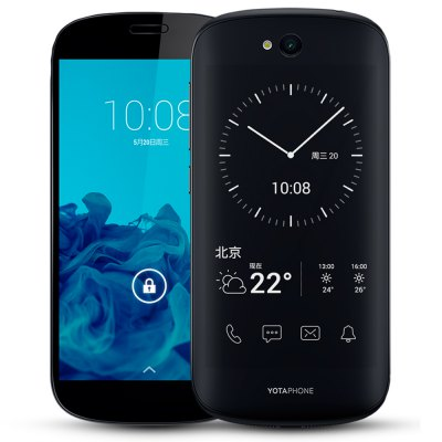 Bargain - $109.99/NZ$155.00 and free shipping  - Yotaphone 2 5.0 inch 4G Smartphone-120.89 Online Shopping| GearBest.com