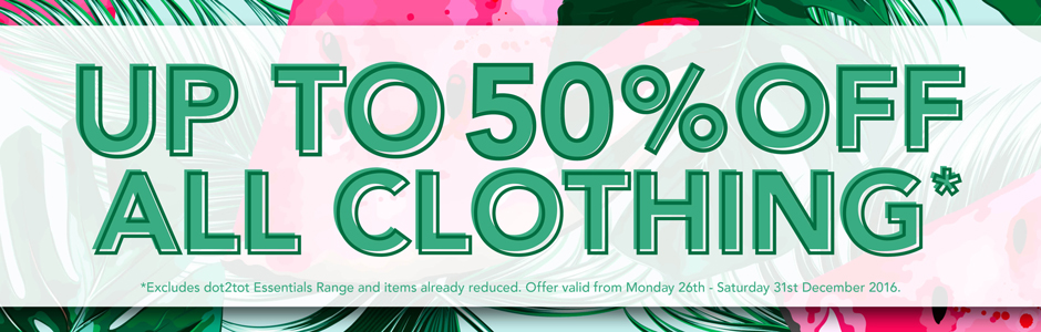 Bargain - Up to 50% Off - Baby Clothing @ Babycity