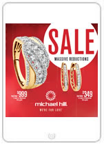 Bargain - Up to 50% Off - Selected Items @ Michael Hill