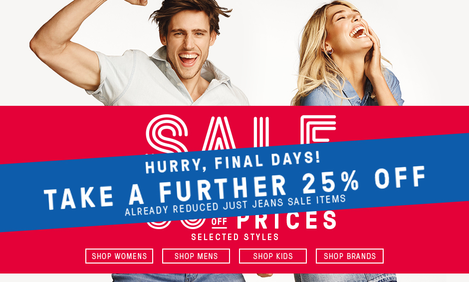 Bargain - Take a Further 25% Off - Already Reduced just Jeans Sale Items @ Just Jeans