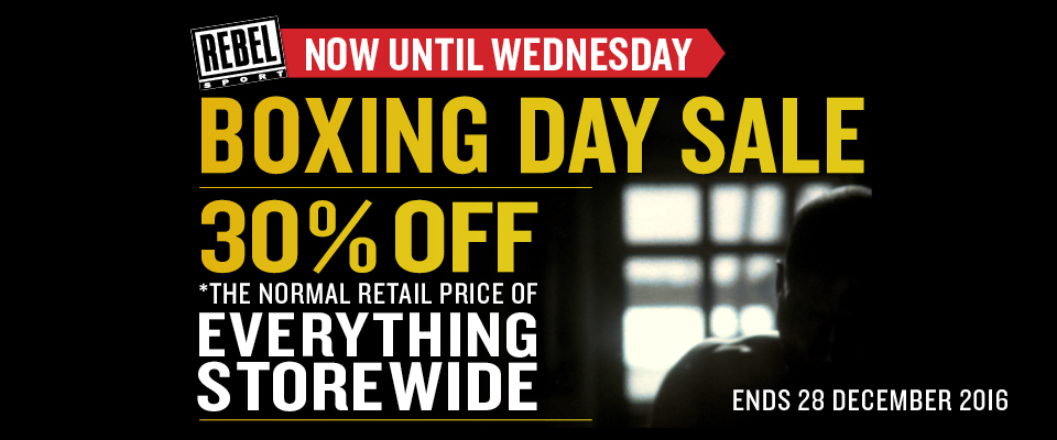 Bargain - 30% Off - Everything Storewide @ Rebel Sport