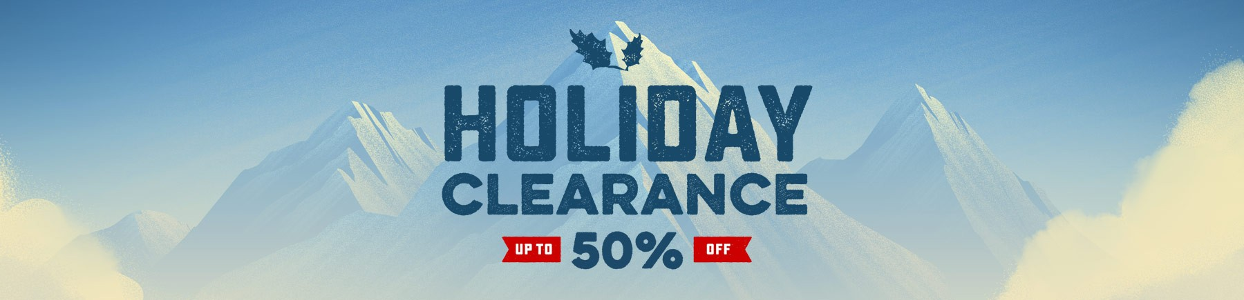 Bargain - Up to 50% OFF - Holiday Clearance @ Rei