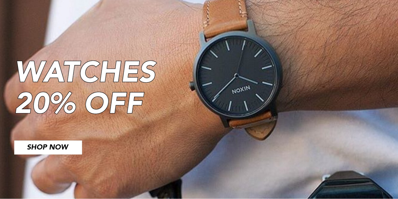 Bargain - 20% Off - Watches @ Amazon Surf