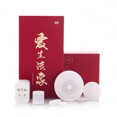 Bargain - 26% OFF $59.99/NZ$84.54 - Xiaomi 5 in 1 Smart Home Security Kit-64.40 Online Shopping| GearBest.com