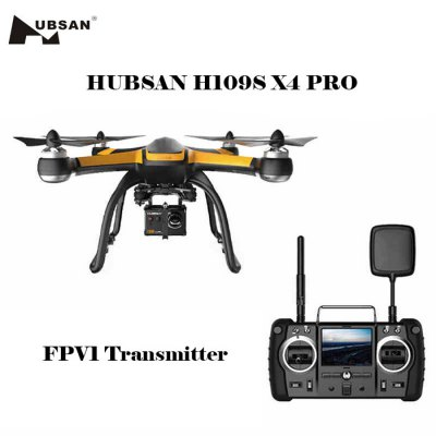 Bargain - 61% OFF $316.99/ NZ$446.70 - Hubsan H109S X4 PRO 5.8G Drone-369.29 Online Shopping| GearBest.com