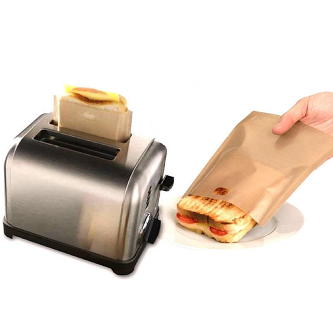 Bargain - FREE - 100% FREE - Reusable Toaster Sandwich Bag - That Daily Deal