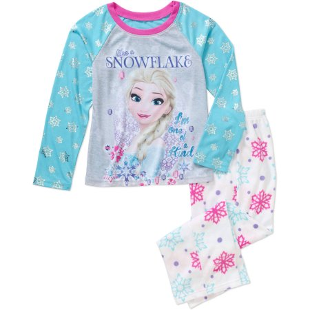 Bargain - $4.50 (was $12.99) - Assorted Licenses Girls` Licensed 2-Pc Poly Pj - Walmart.com