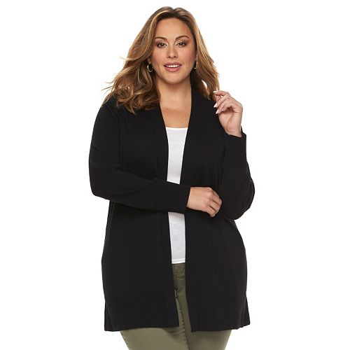 Bargain - $21.99 USD (was $44 USD) - Plus Size Croft & Barrow® Open-Front Cardigan @ Kohl`s