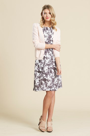 Bargain - $149.90 (was $200) - GARDEN SHIFT DRESS @ Hartleys Fashion