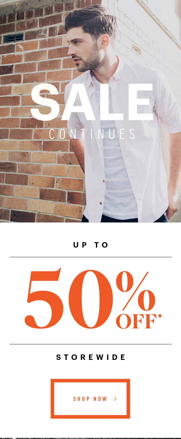 Bargain - Up to 50% Off - Storewide @ Barkers