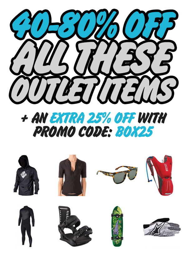 Bargain - 40-80% OFF - All Outlet Items @ Hyper Ride