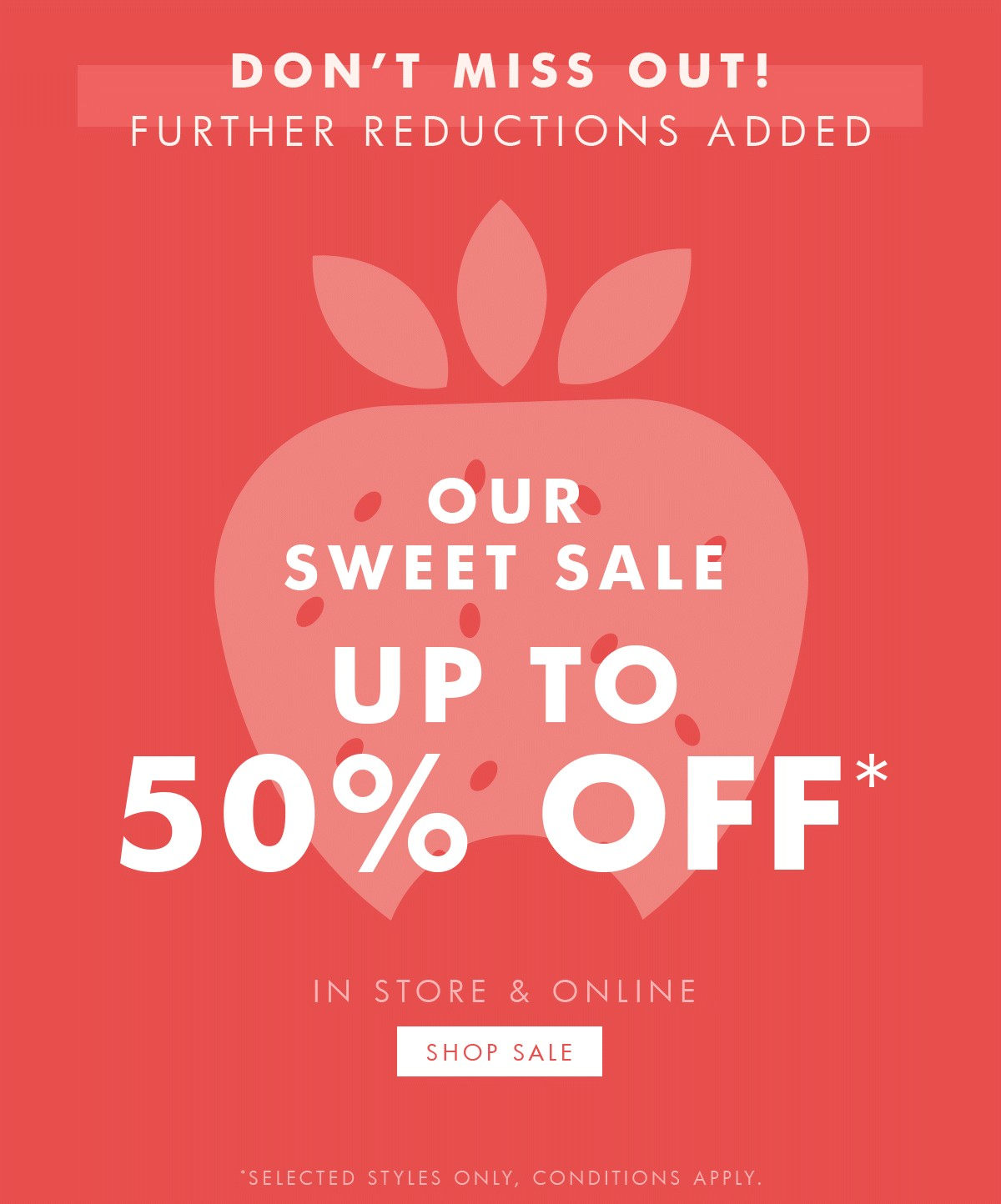 Bargain - Up to 50% OFF - Further reductions selected styles @ Kikki-k