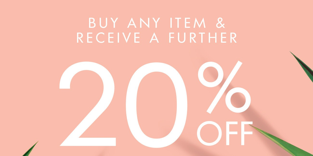 Bargain - Further 20% OFF - When you Buy Any Item @ Mi Piaci