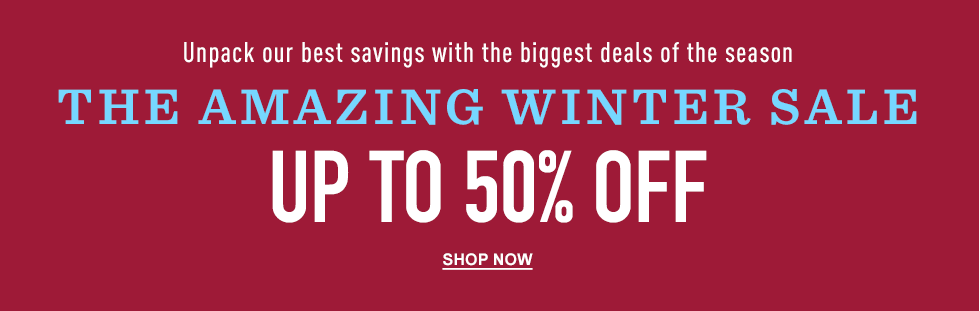 Bargain - Up to 50% OFF - Winter Sale @ L. L. Bean
