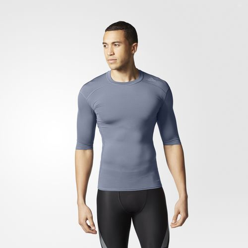 Bargain - $14	USD (was $28 USD) - Adidas Techfit Base Tee - Grey @ Adidas US