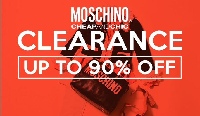 Bargain - Up to 90% OFF - Moschino Cheap & Chic Clearance @ NZ Sale