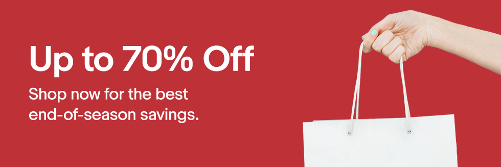 Bargain - Up to 70% OFF - End of Season Sale   eBay