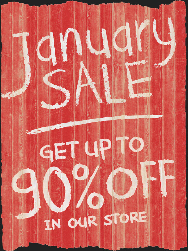 Bargain - Up to 90% OFF - January Sale @ NZ Game Shop