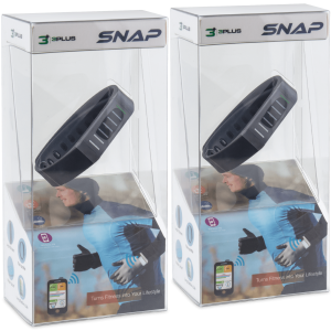 Bargain - 2 for $10 - Meh: 2-Pack: Snap Activity Trackers