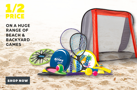 Bargain - Half Price - Huge Range of Beach & Backyard Games @ Rebel Sport