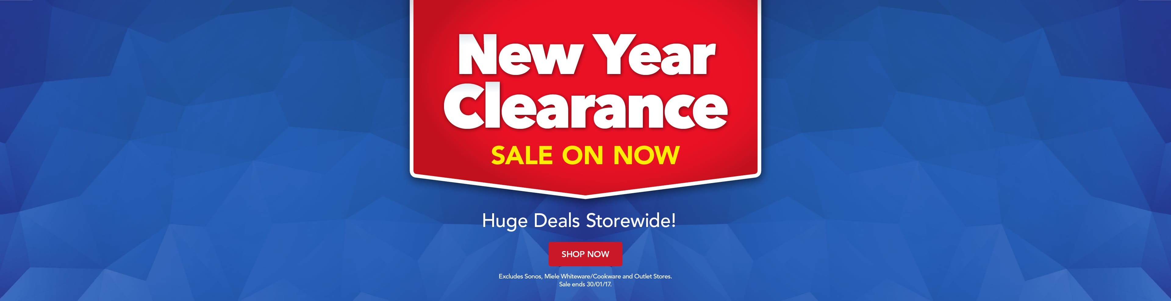 Bargain - New Year Clearance - Sale @ Harvey Norman