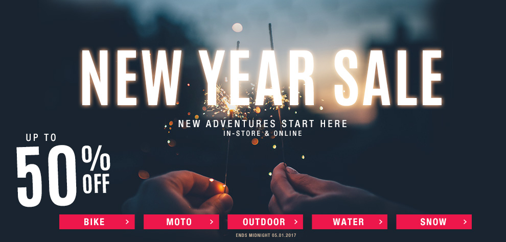 Bargain - Up to 50% OFF - New Year Sale @ Torpedo 7