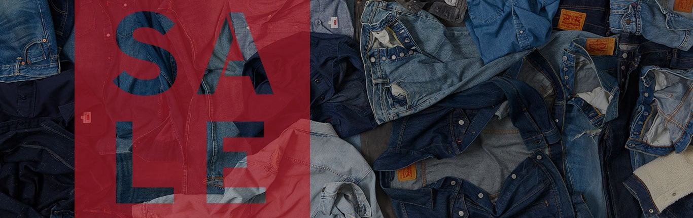 Bargain - Extra 30% Off - End of Season Sale @ Levi`s